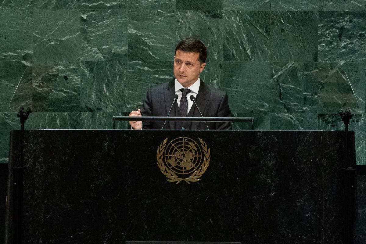 В Нью-Йорке проходит 76-я сессия Генассамблеи ООН / фото president.gov.ua
