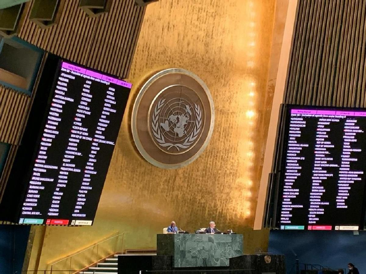 Генассамблея ООН рассмотрит ситуацию на оккупированных территориях Украины / фото twitter.com/MFA_Ukraine