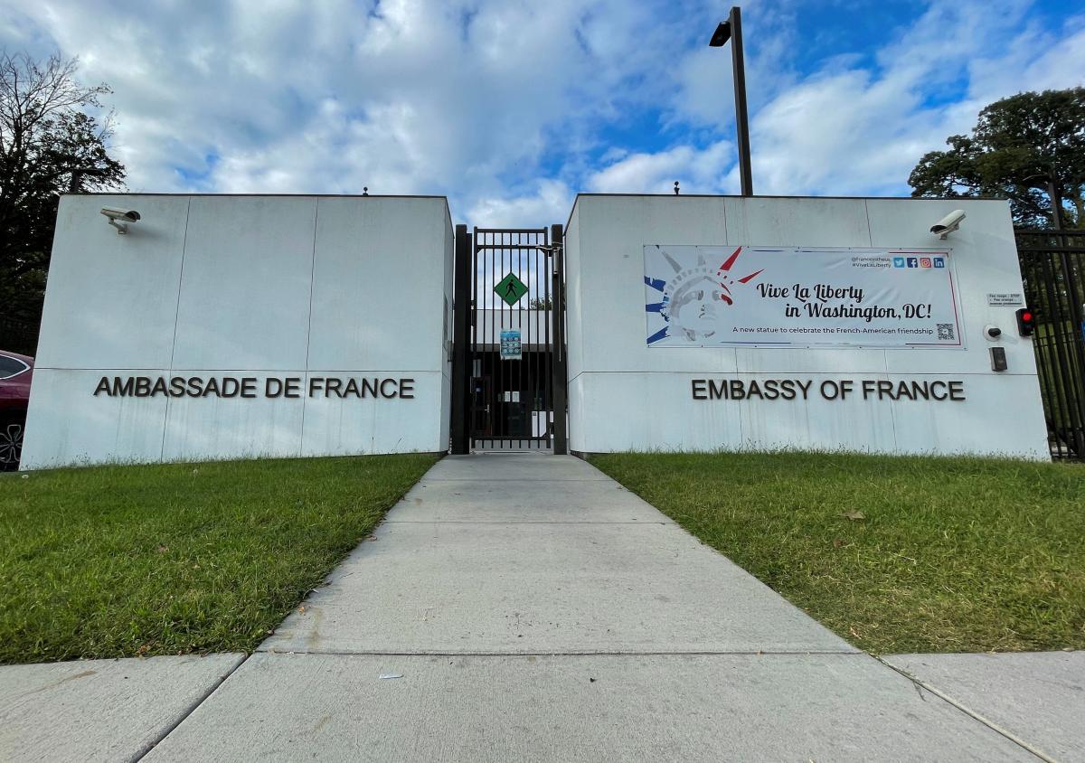 Посольство Франции в США / фото REUTERS