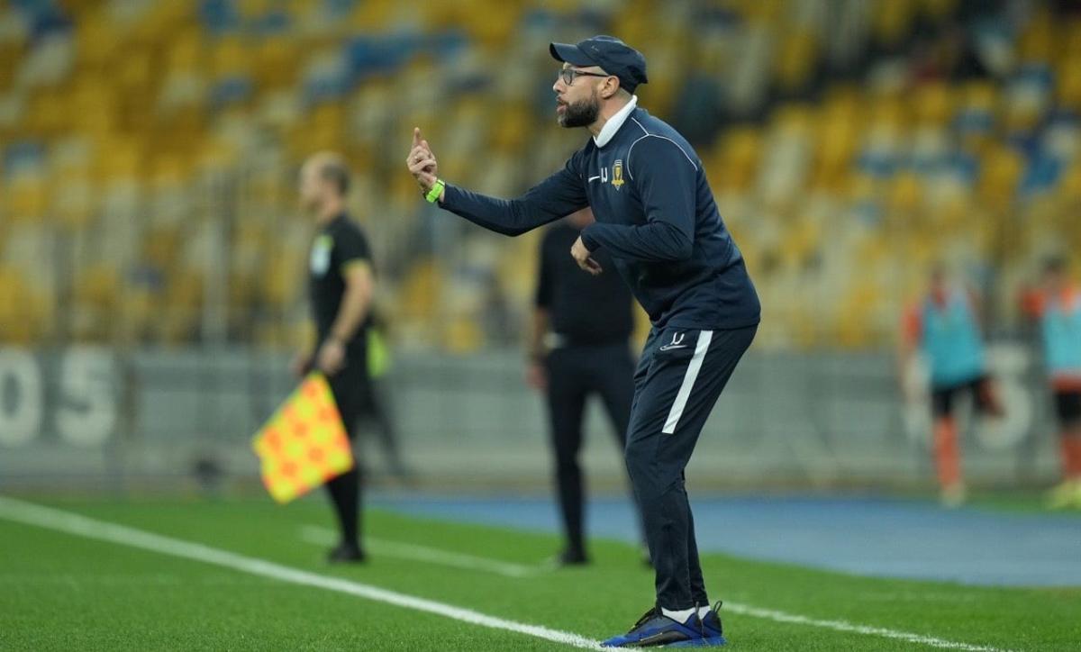 Головний тренер Дніпра-1 Ігор Йовічевіч / фото СК Дніпро-1