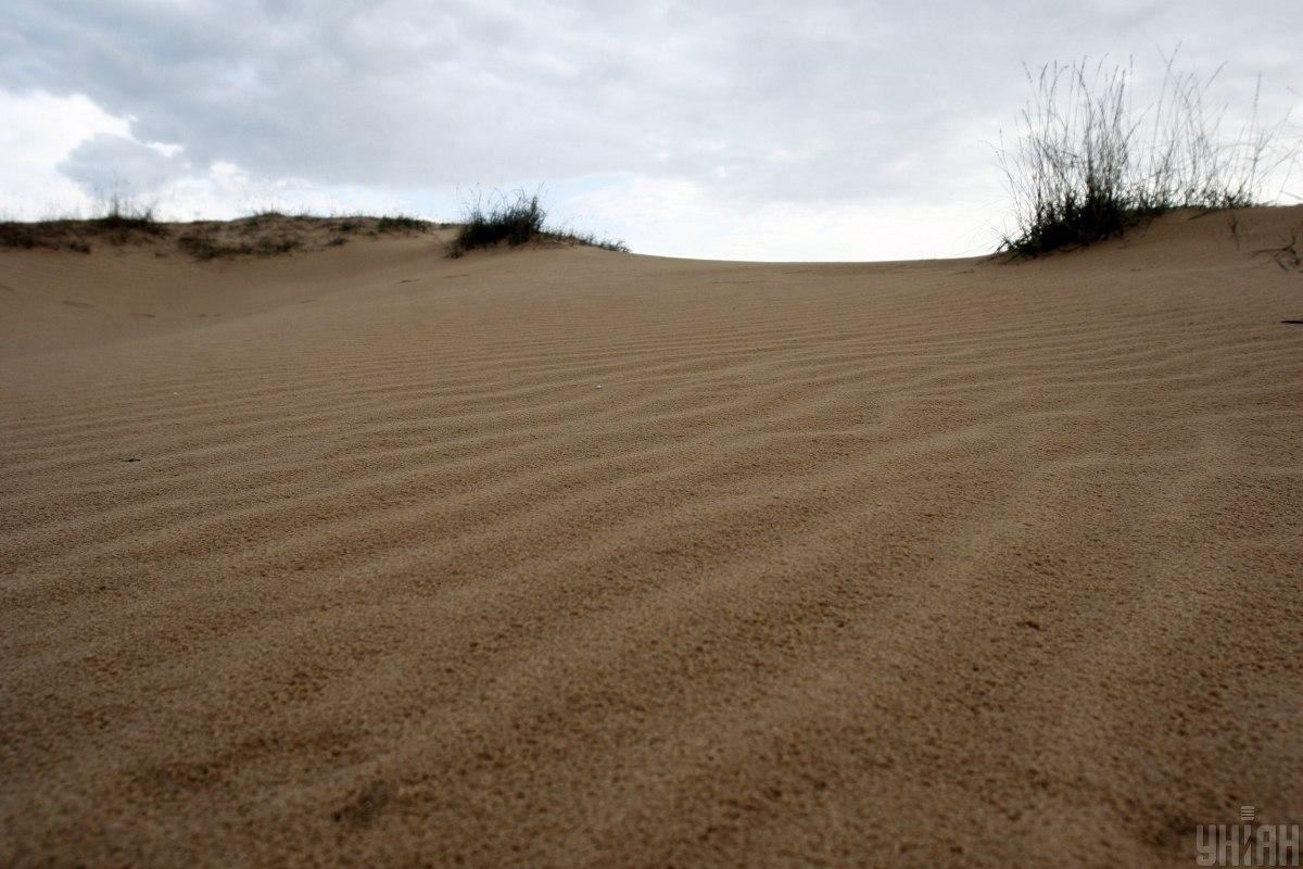 Олешковские пески - маленький фрагмент пустыни в Херсонской области / фото УНИАН, Андрей Скакодуб