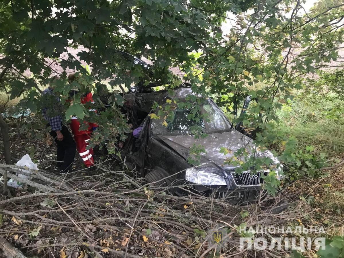 В результате ДТП на Киевщине погибли три человека / фото Национальной полиции