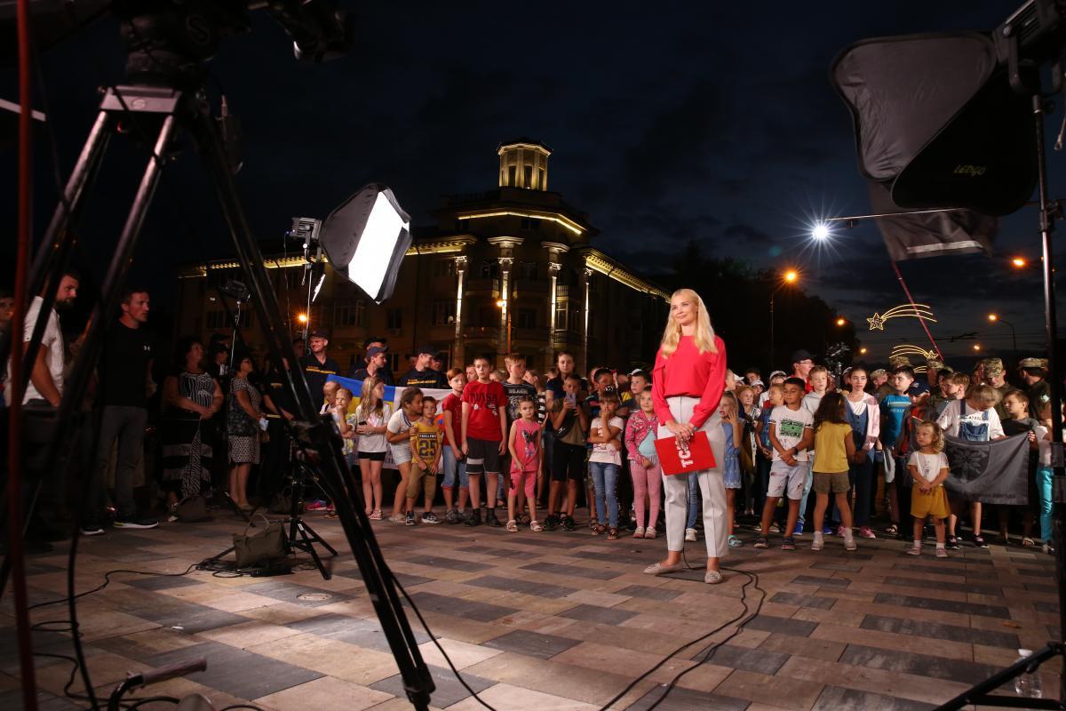 Цей тур містами України надихнув мене і всю команду ТСН, - Таран / прес-служба 1+1