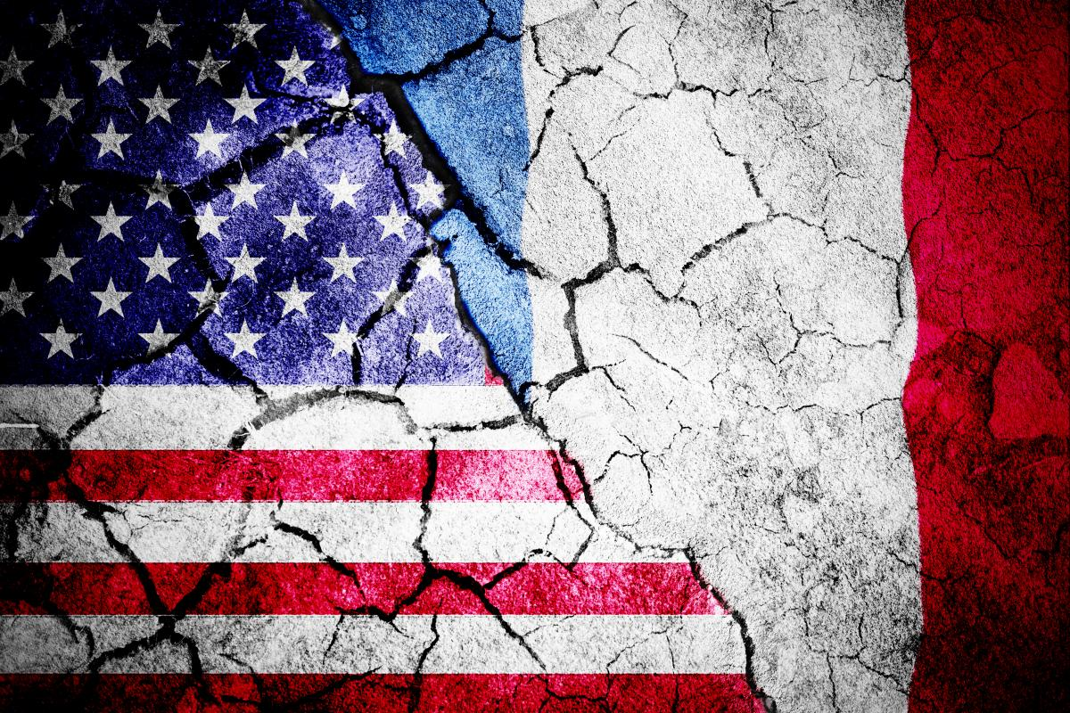 Отношения США и Франции находятся в кризисе / фото ua.depositphotos.com