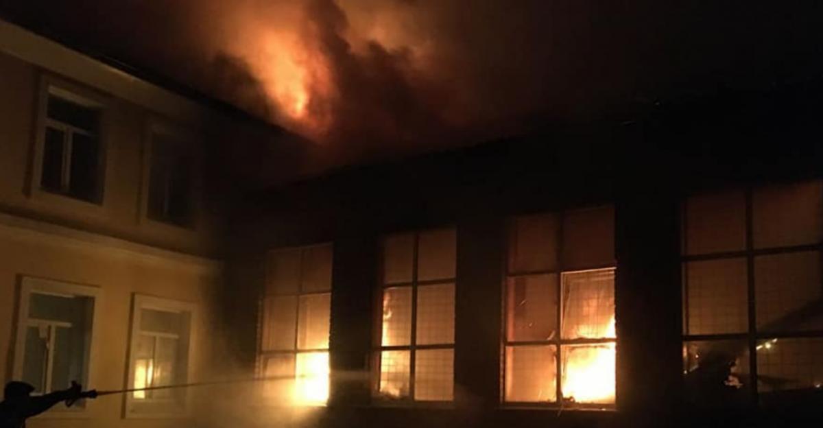 У пожежі ніхто не постраждав / фото ДСНС