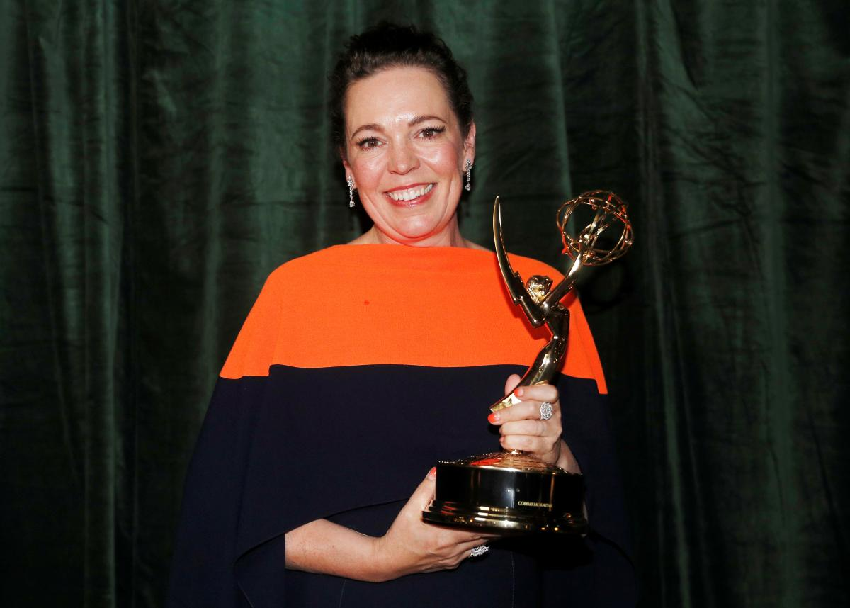 Олівія Колман, яка зіграла роль Єлизавета II / фото REUTERS
