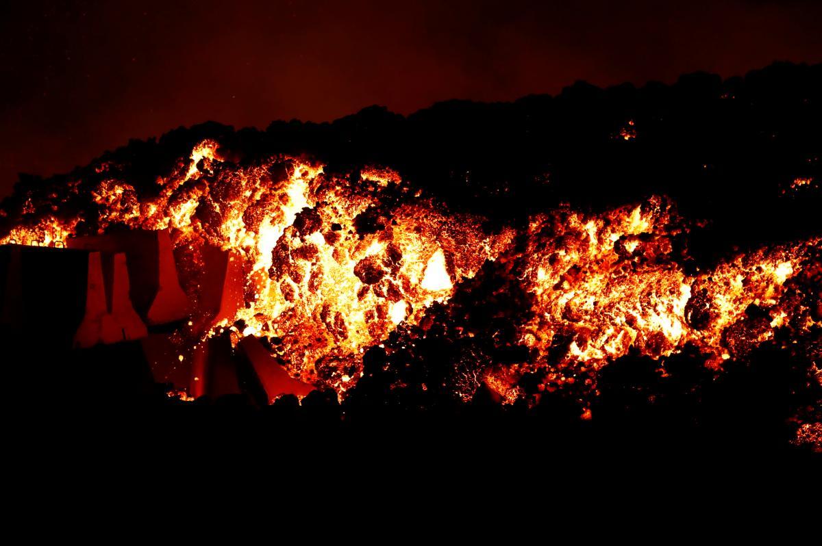 Вулкан Кумбре-В'єха вважається одним із найактивніших на Канарських островах / REUTERS
