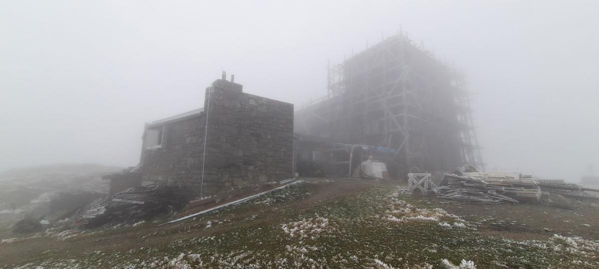 В Карпатах сильно похолодало / фото Черногорский горный поисково-спасательный пост