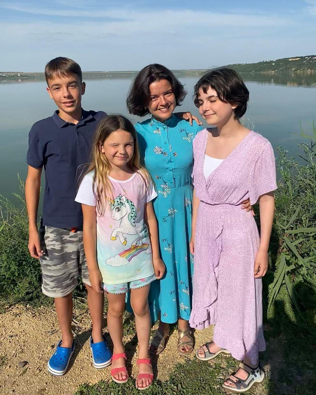 Марічка Падалко зі своїми дітьми / instagram.com/marichkapadalko