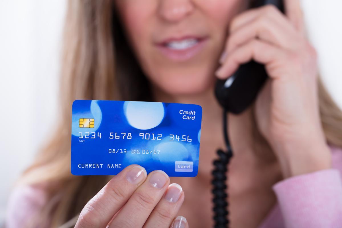 Мета телефонних шахраїв - інформаціяпро кредитну картку / фото ua.depositphotos.com