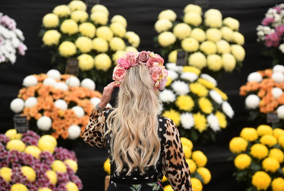 Chelsea Flower Show 2021 / фото REUTERS