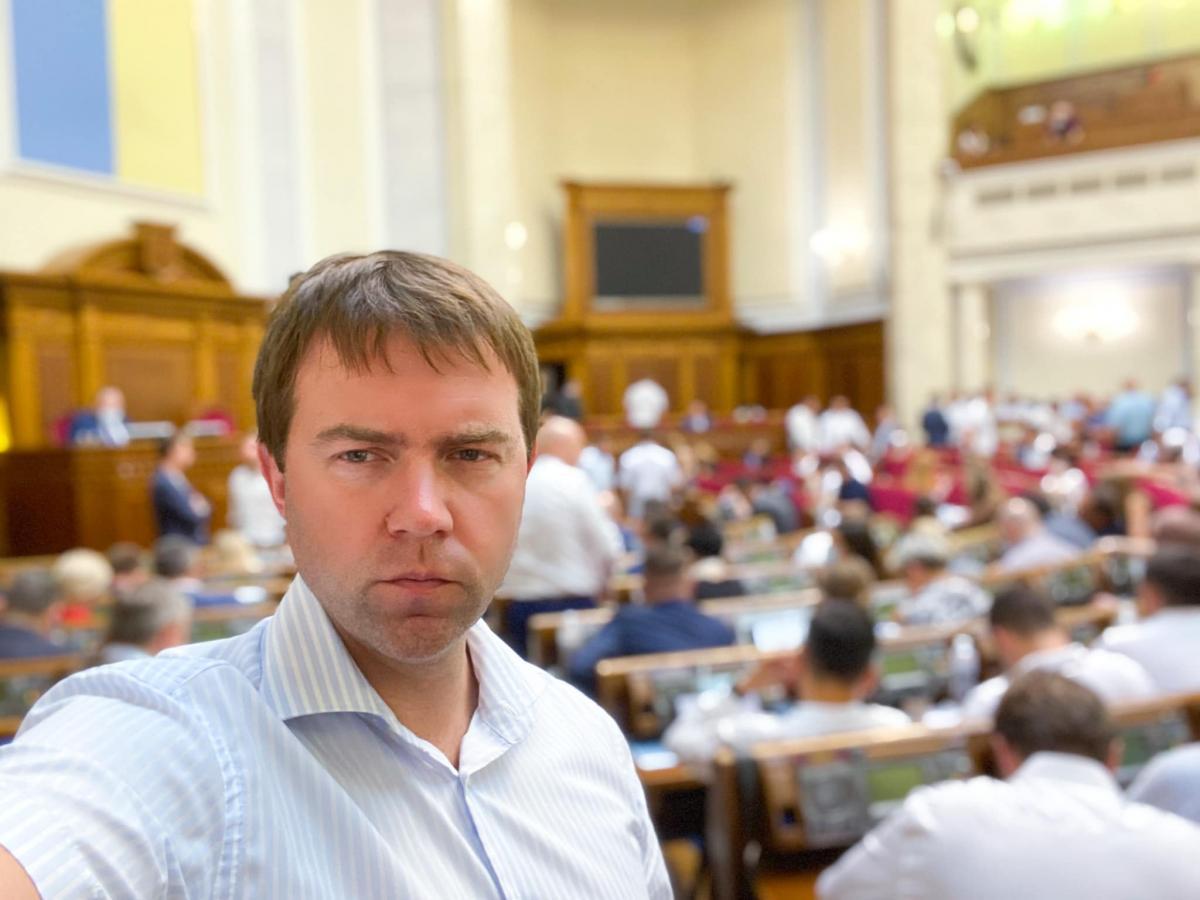 Іонушас може обійняти посадуголови правоохоронного комітету/ фото Facebook/ Sergii Ionushas
