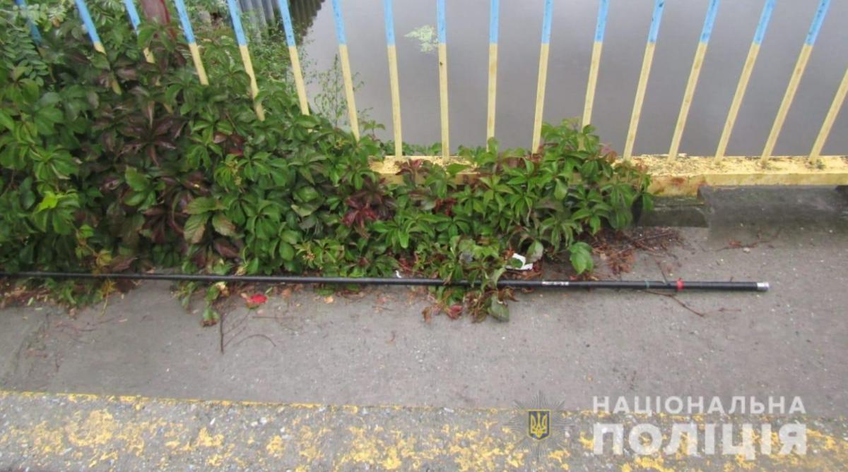 Подростки рыбачили в селе Гнедин / фото Нацполиция