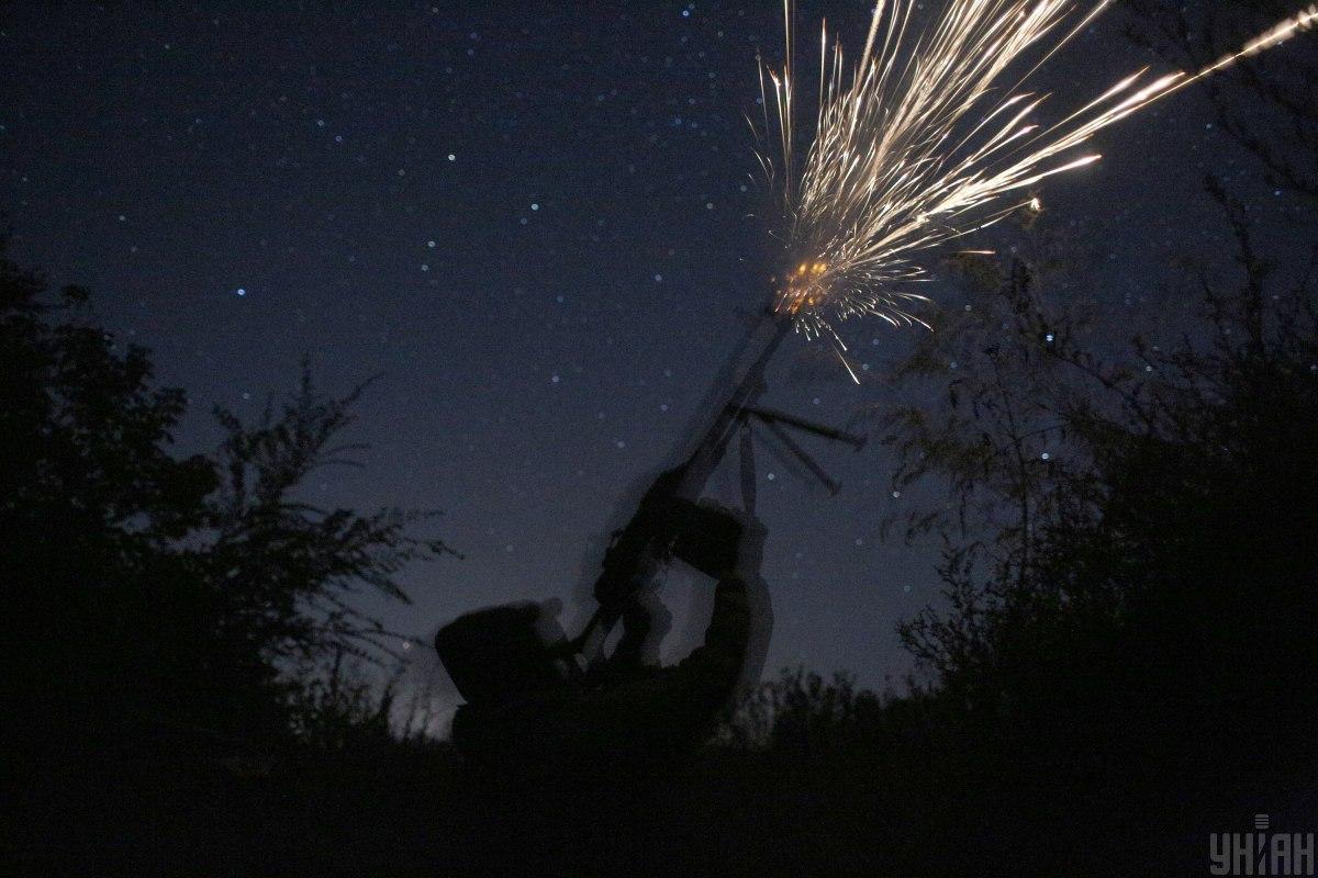 Військовослужбовець Об'єднаних сил дістав вогнепальне поранення/ фото УНІАН, Анатолій Степанов