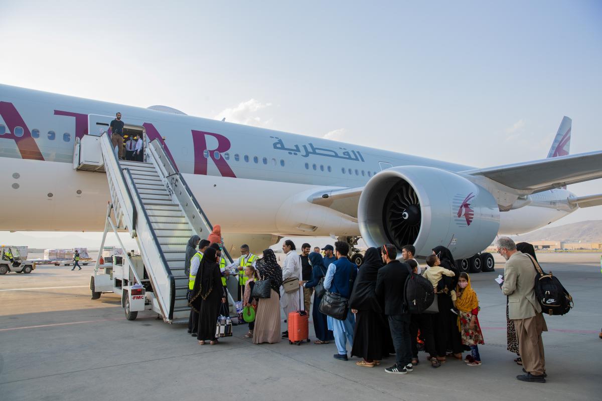 Евакуація з Афганістану / фото REUTERS