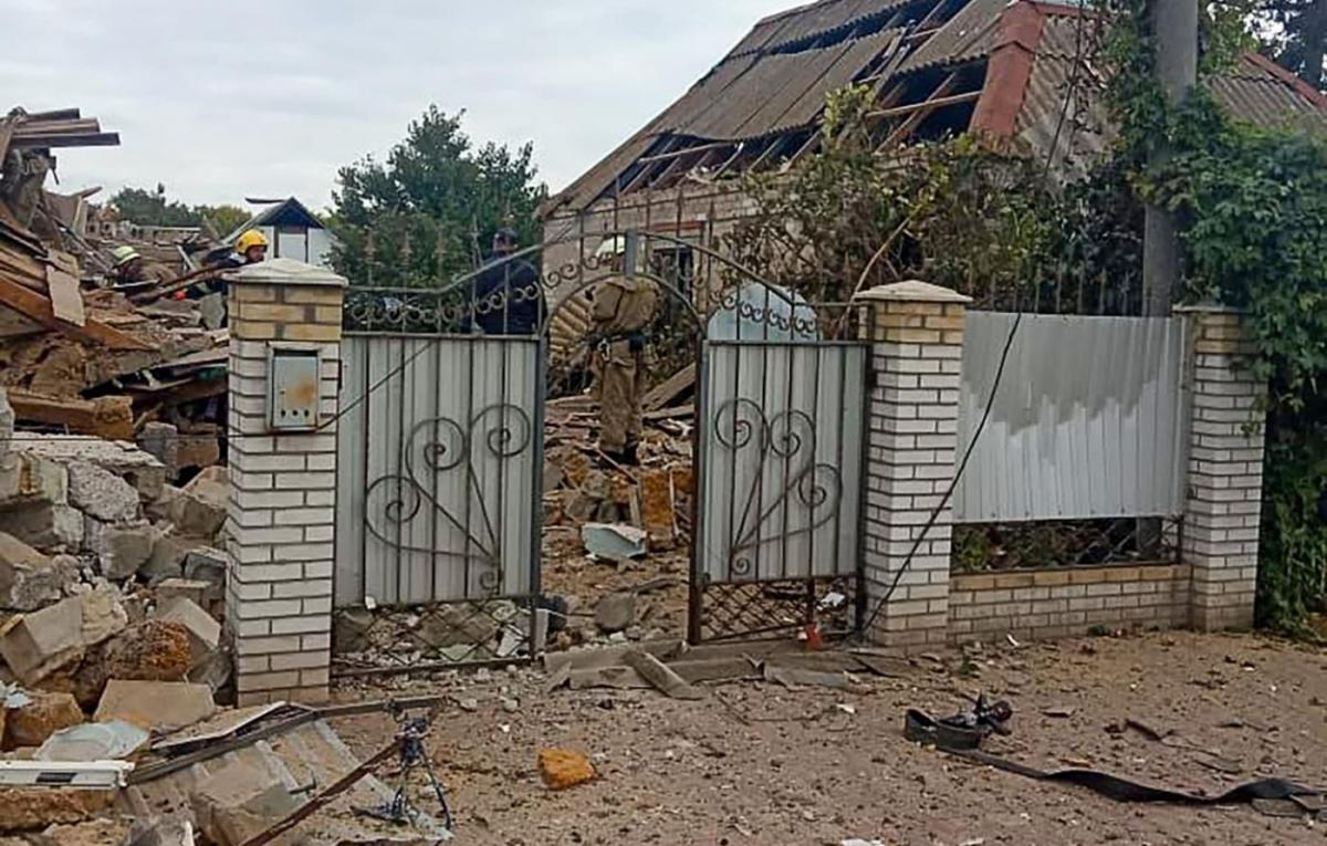 Мужчина взорвал дом / фото facebook.com/vkgunpzp