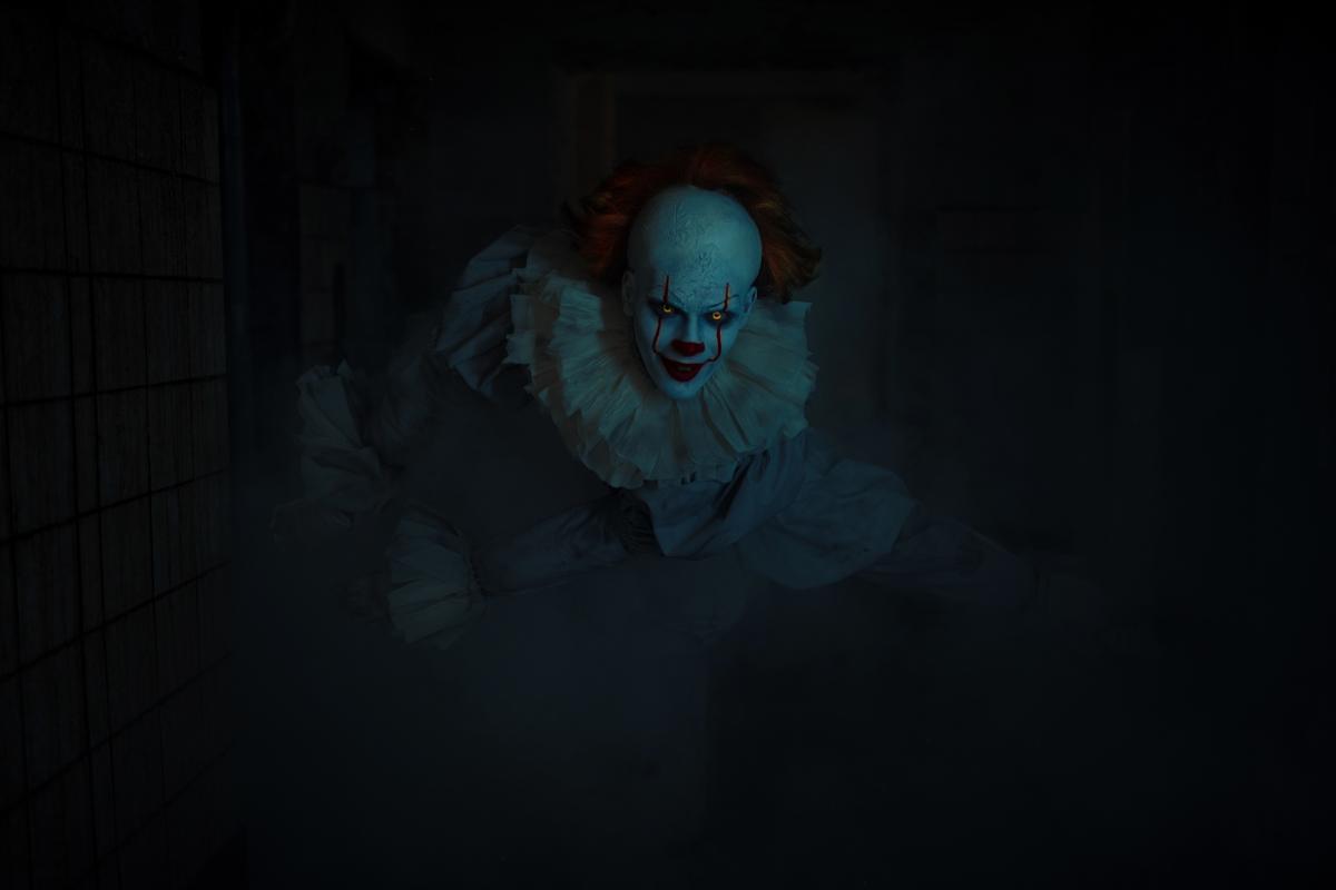 """Клоун Пеннівайз з фільму """"Воно"""" / фото ua.depositphotos.com"""