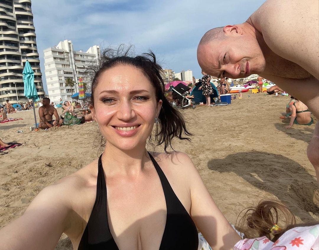 Олеся Бацман показала фото з чоловіком / instagram.com/alesiabatsman