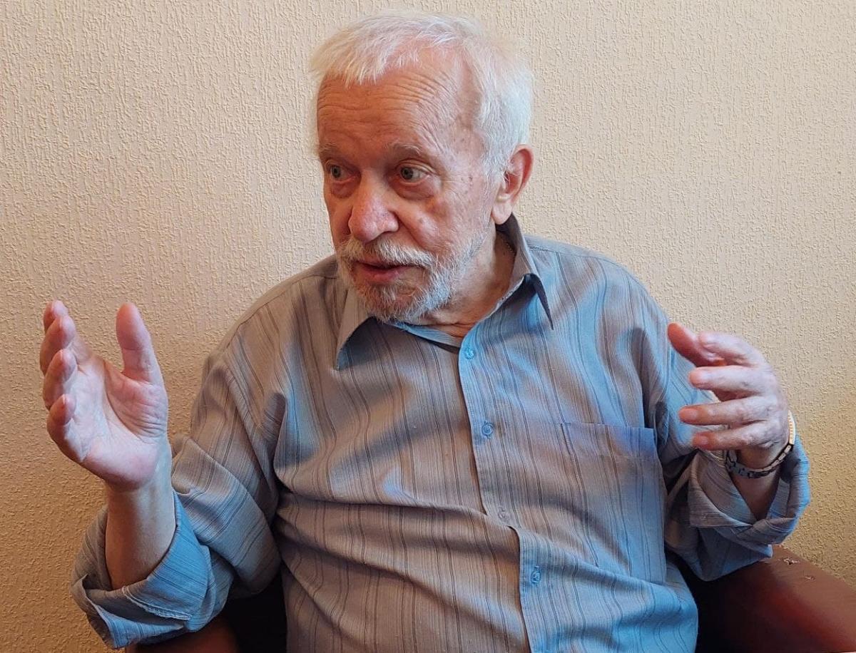 Легенда украинского кинематографа Вилен Новак/ фото УНИАН, Лариса Козовая