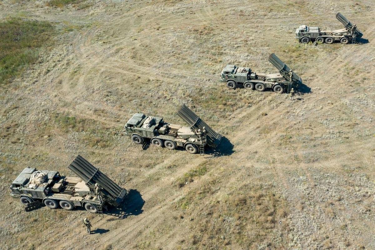 Тренировка артиллерийского подразделения проходила в условиях, максимально приближенных к реальным / фото - ВСУ