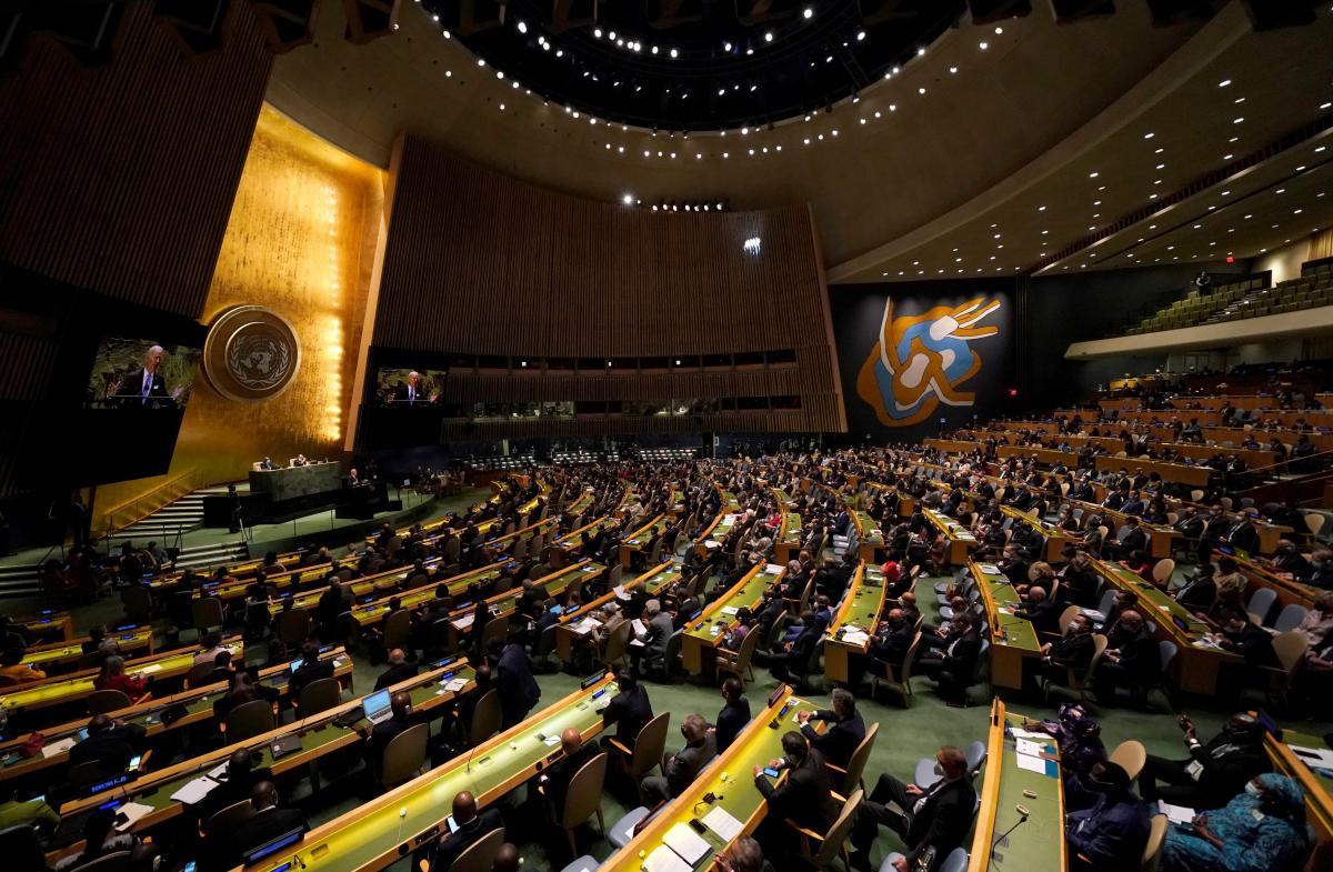 На Генасамблеї ООН стався скандал через COVID-безпеку/фото REUTERS