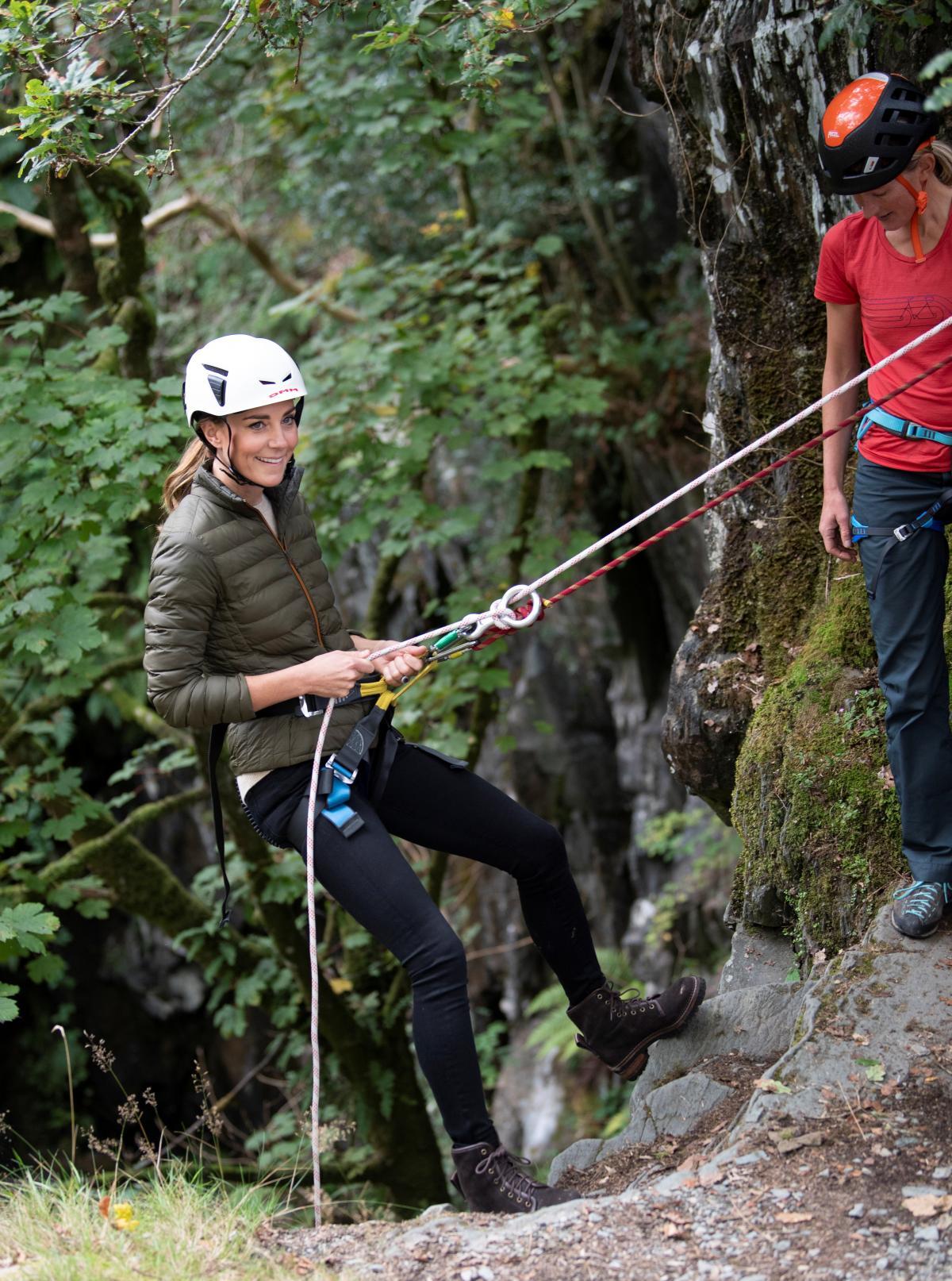 Кейт в горах / фото REUTERS