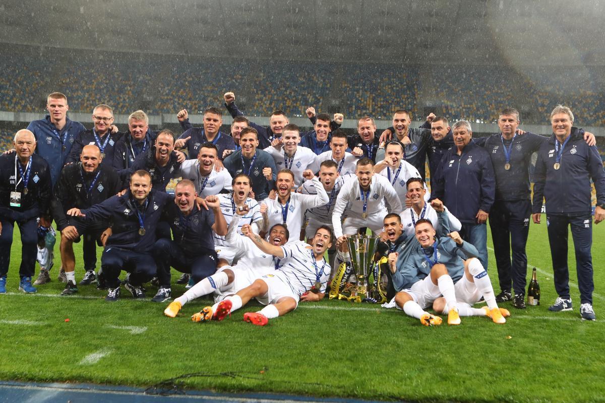 Динамо выиграло Суперкубок в прошлом году / фото Динамо Киев