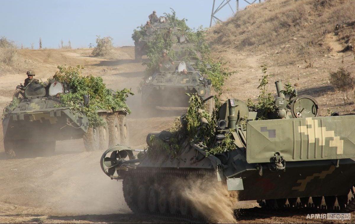 В Україні проходять масштабні військові навчання / фото facebook.com/MinistryofDefence.UA