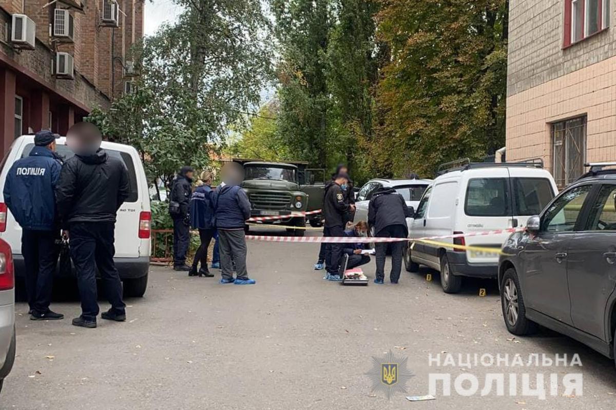 Козлова расстреляли сегодня утром в одной из кофеен Черкасс / facebook.com/cherkasypolice