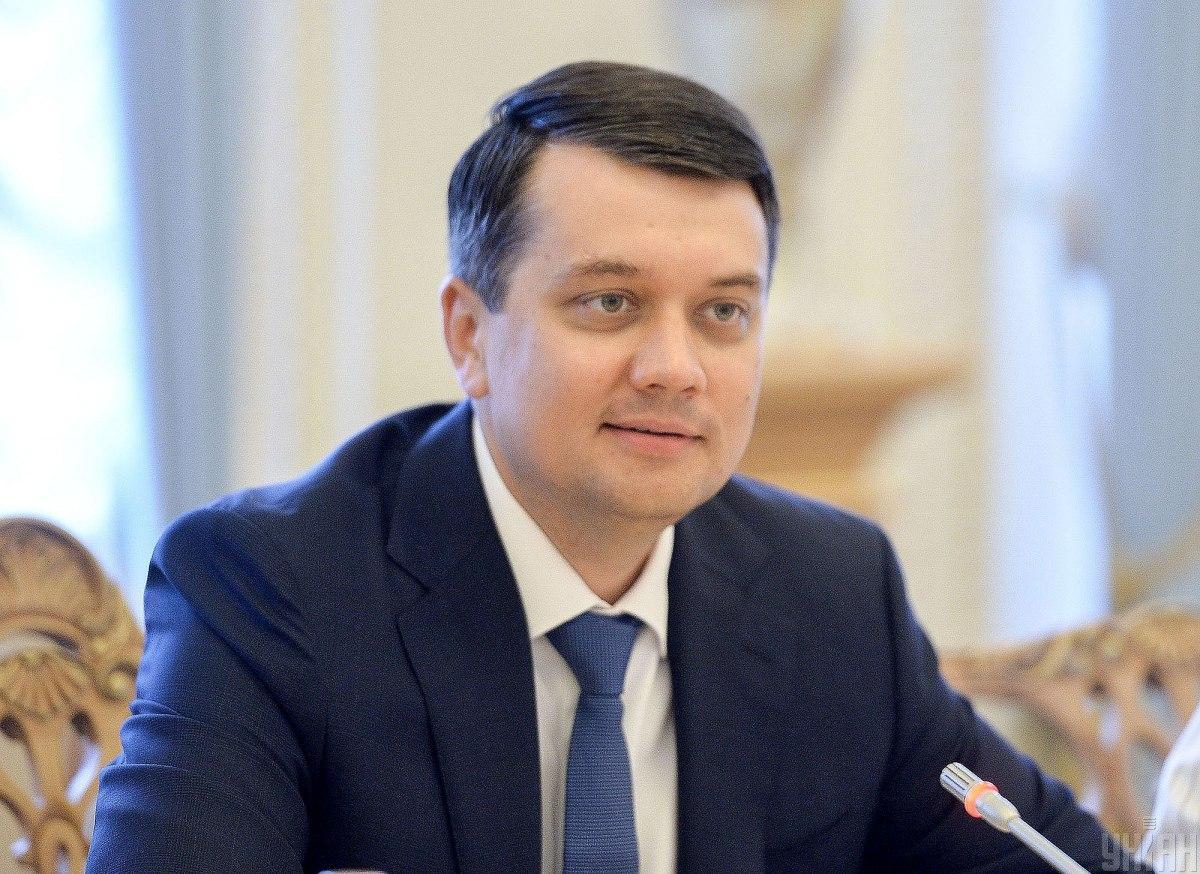 Покушение на Сергея Шефира не стоит связывать с борьбой с олигархами, считает Дмитрий Разумков / УНИАН