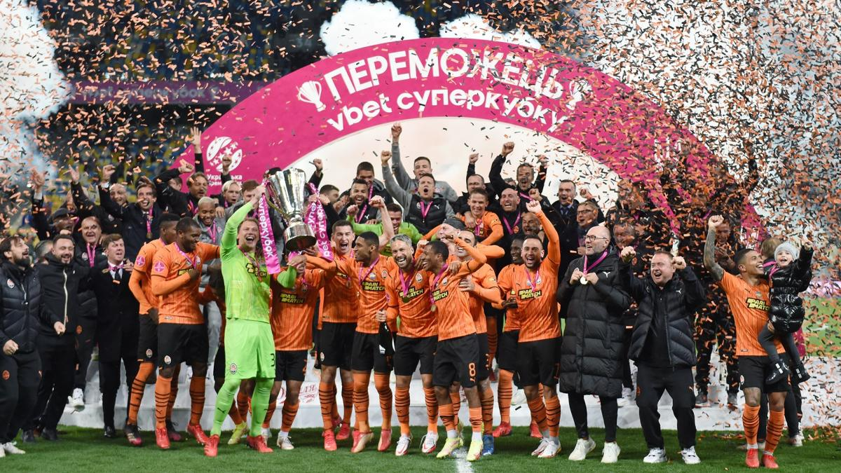 Шахтер - обладатель Суперкубка-2021 / фото ФК Шахтер
