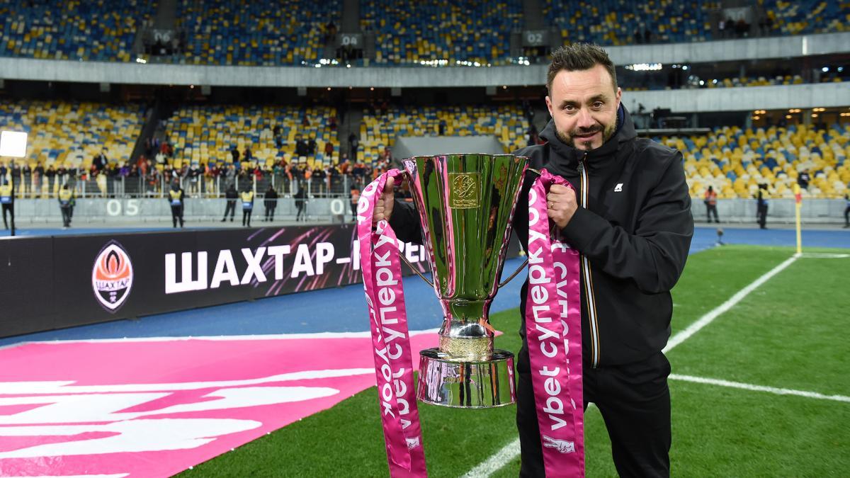 Роберто Де Дзербі виграв свій перший трофей / фото ФК Шахтар