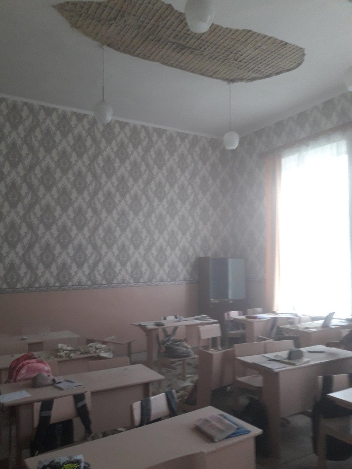Ніхто з учнів не постраждав \ Новгород-Сіверська міська територіальна громада