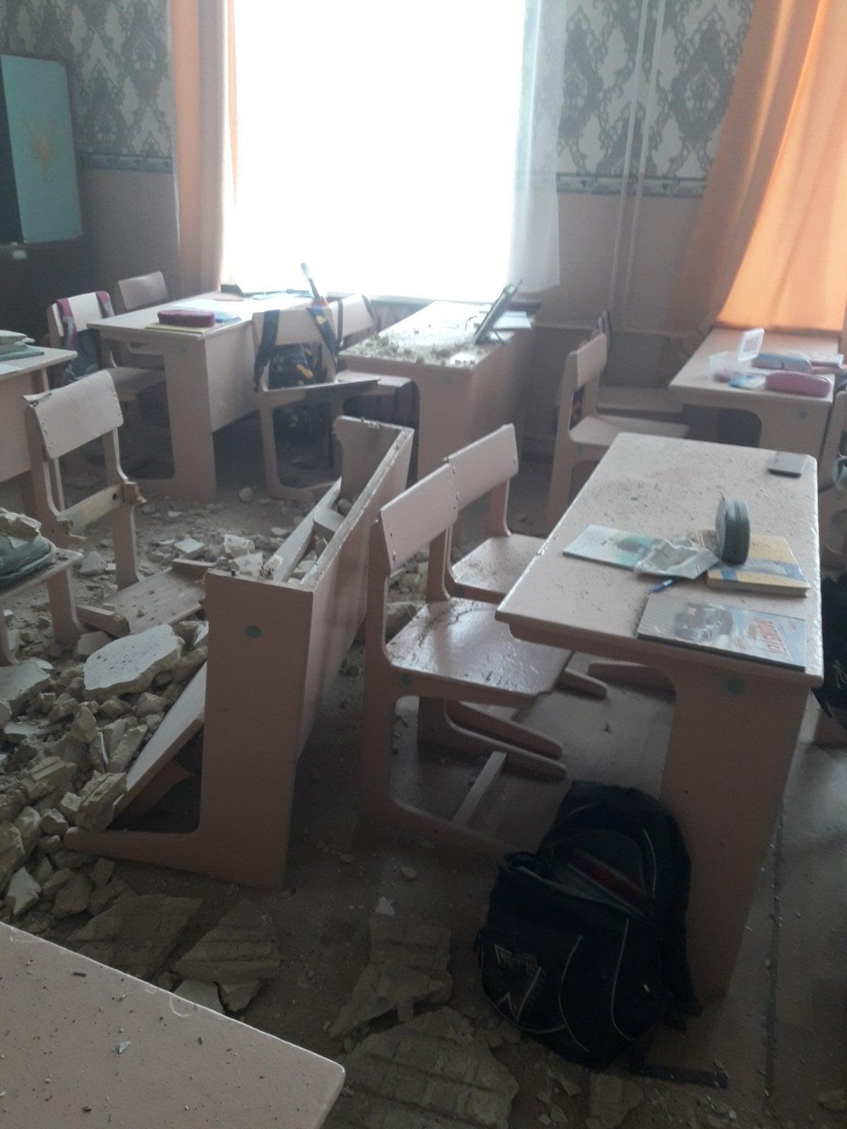 Стеля впала під час перерви \ Новгород-Сіверська міська територіальна громада