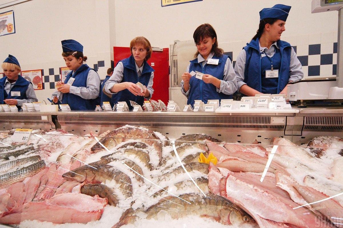 В одеському супермаркеті виставили тунець за понад 300 тис. грн / фото Володимир Шеремет/УНІАН
