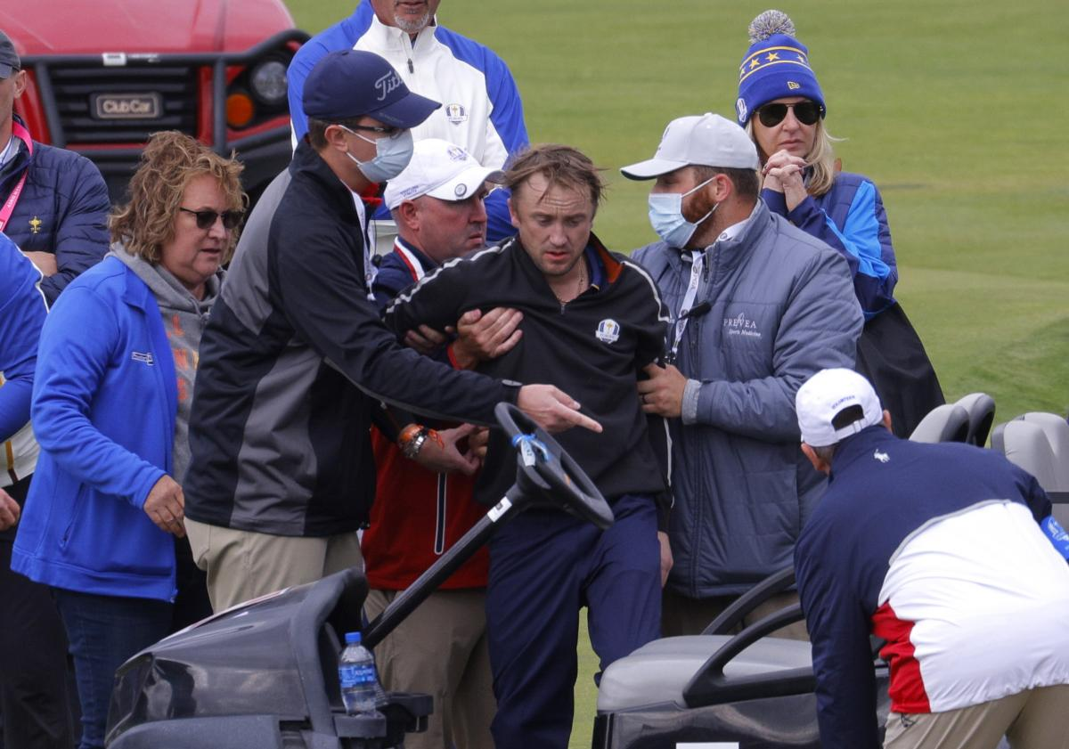 Актер Том Фелтон упал в обморок на турнире по гольфу / фото REUTERS