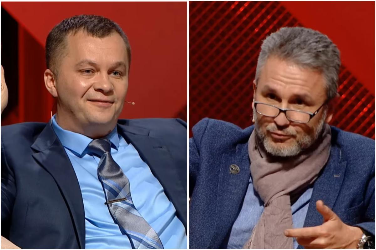 Милованов поскандалилв прямом эфире с юристом / скриншот