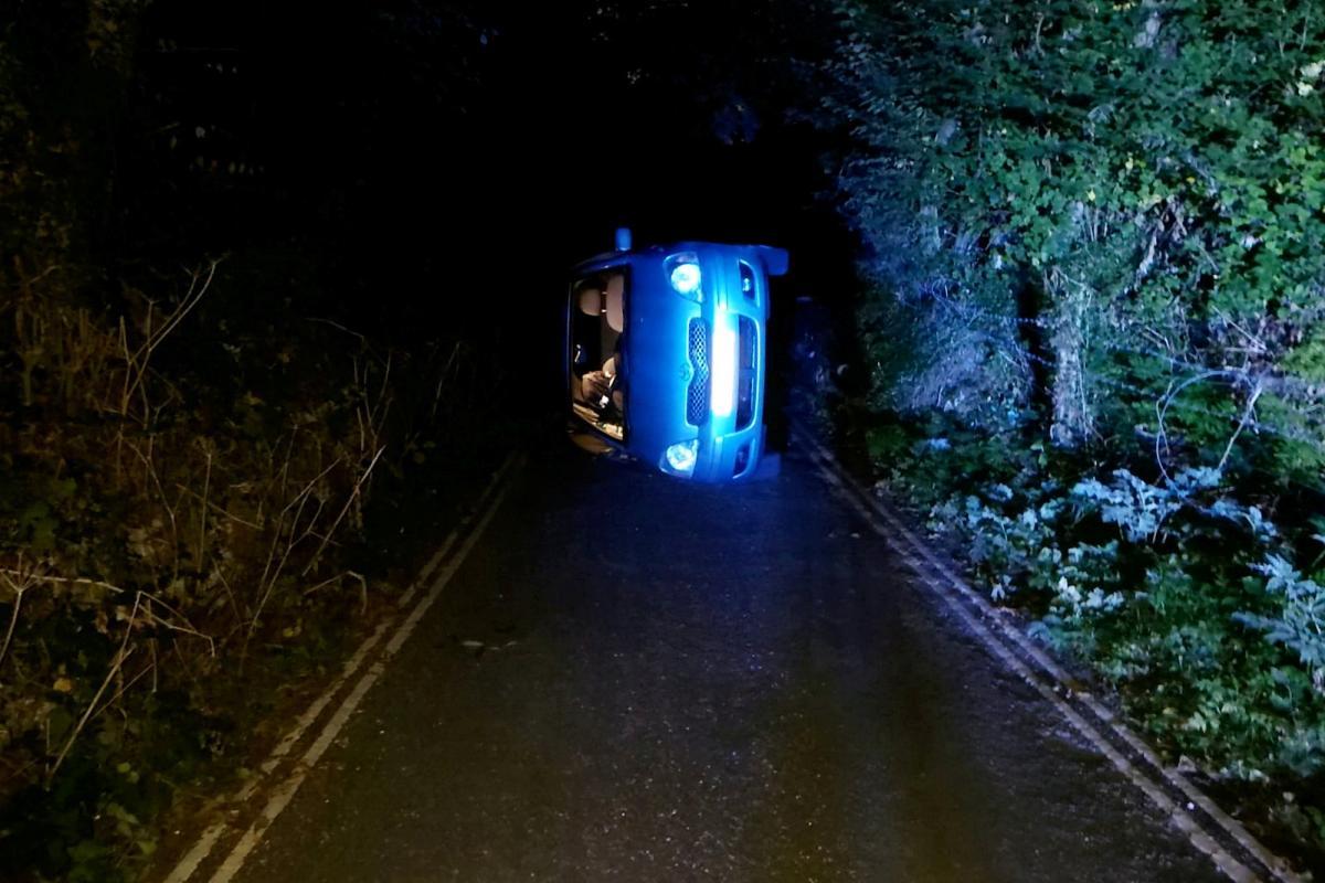 Ніхто з людей в результаті аварії не постраждав / фото Derbyshire RPU