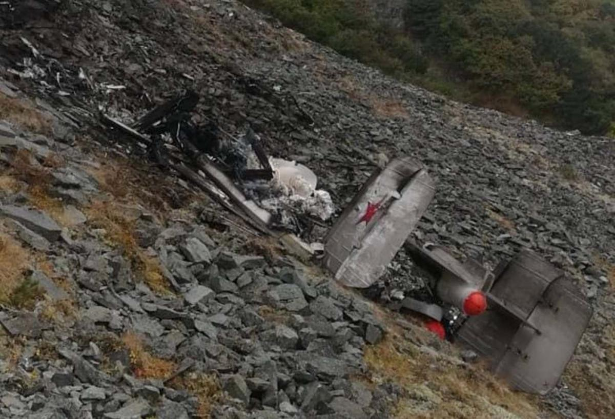 Найдены обломки вертолета / фото t.me/ENews112