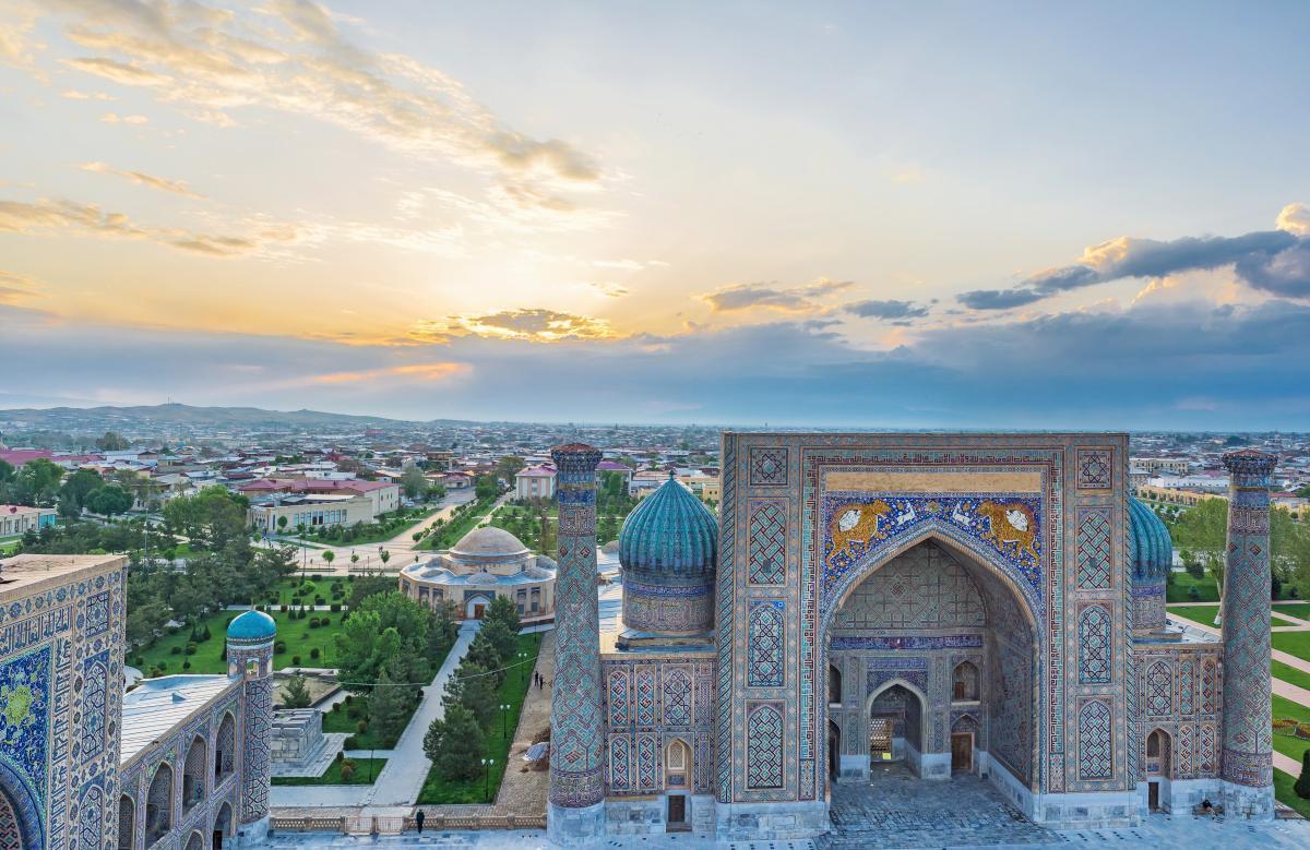 Самарканд – город с богатейшей историей / фото ua.depositphotos.com