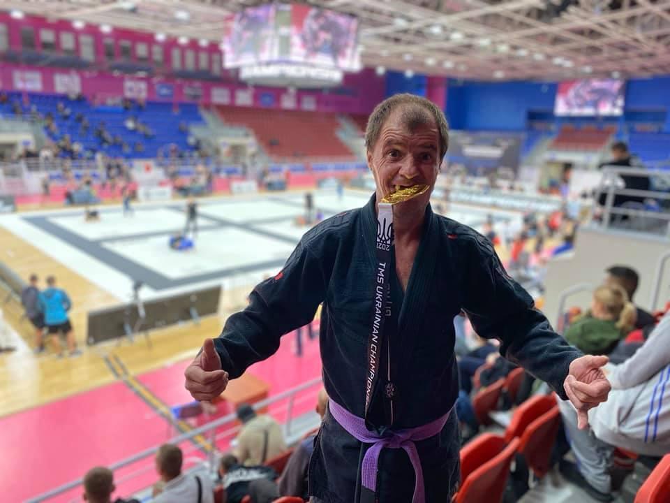 Українець у 42 роки опанував джиу-джитсуі став чемпіоном/фото Ігор Євтушенко / Facebok