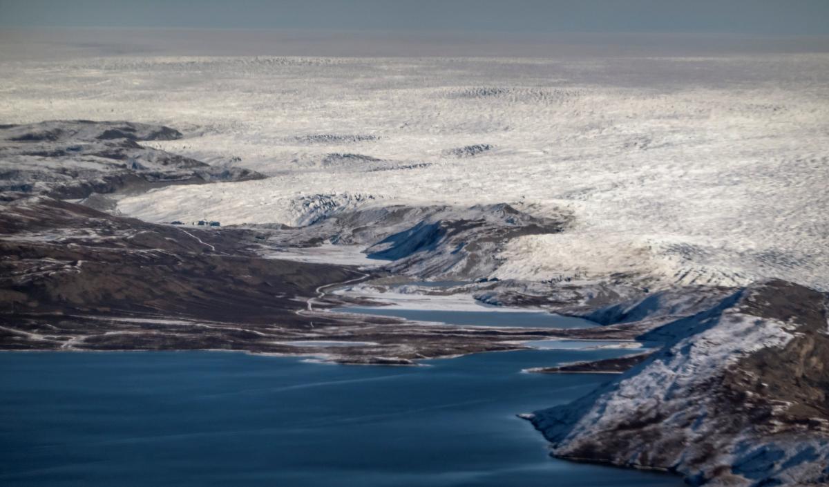 Ледовый покров Гренландии / фото REUTERS