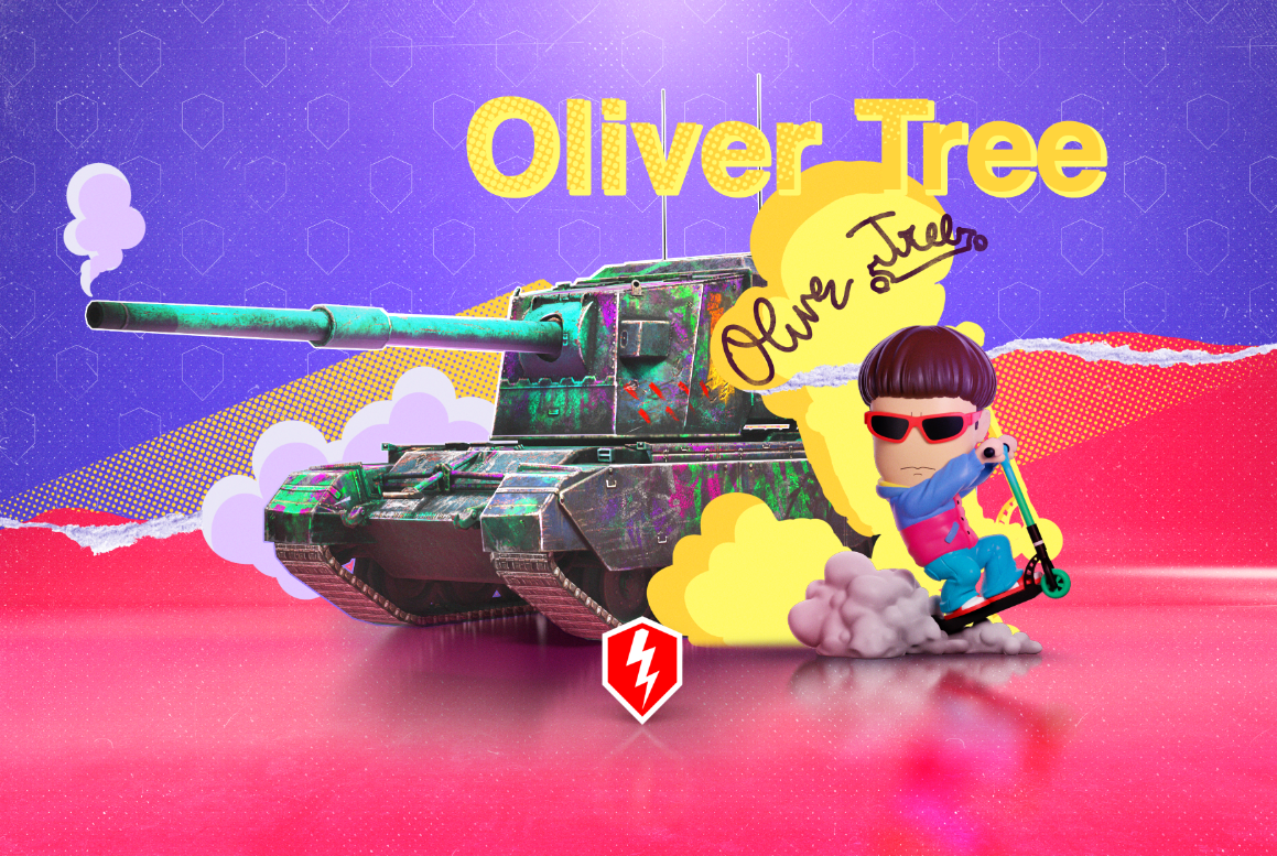 В ангарі World of Tanks Blitz звучатиме один з хітів артиста / фото Wargaming