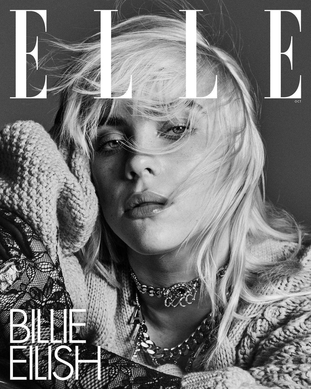 Билли Айлиш снялась в новой фотосессии для глянца / фото instagram.com/billieeilish