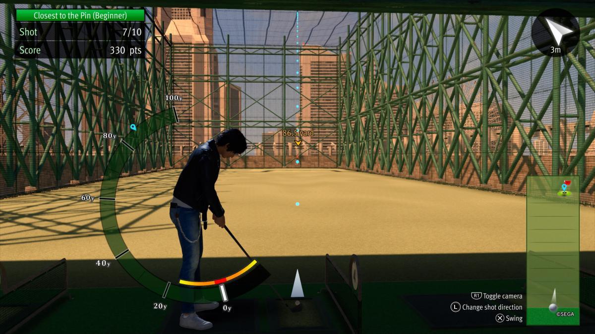 На грі в гольф можна надовго зависнути і витратити всі внутрішньоігровігроші / скріншот