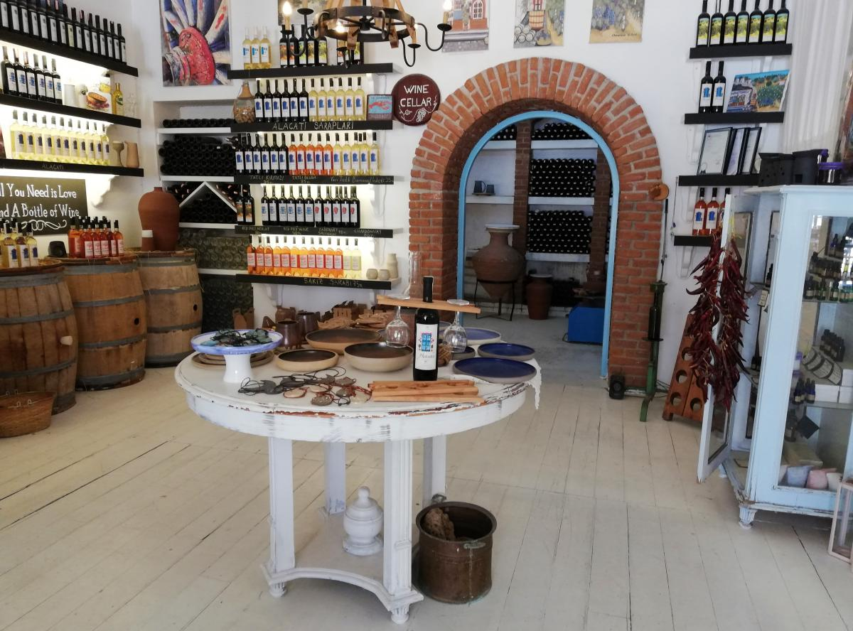 Gemici Winery в Алачати / фото Марина Григоренко