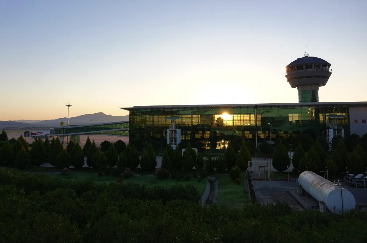 Аэропорт Измира / фото Марина Григоренко