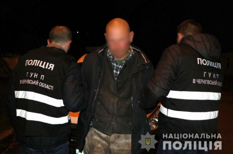 Задержание подозреваемого / фото полиция