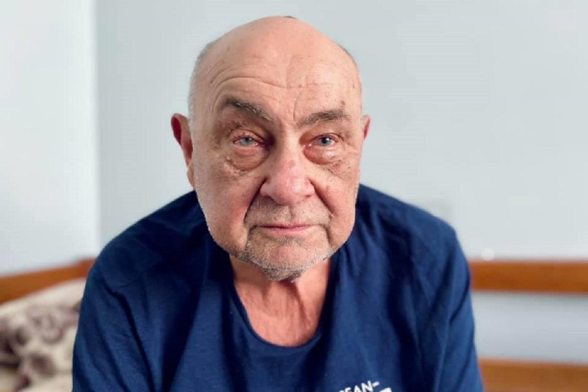 Пациент, которому трансплантировали роговицу глаза, чувствует себя хорошо / фото - facebook.com/emergencyhospitall