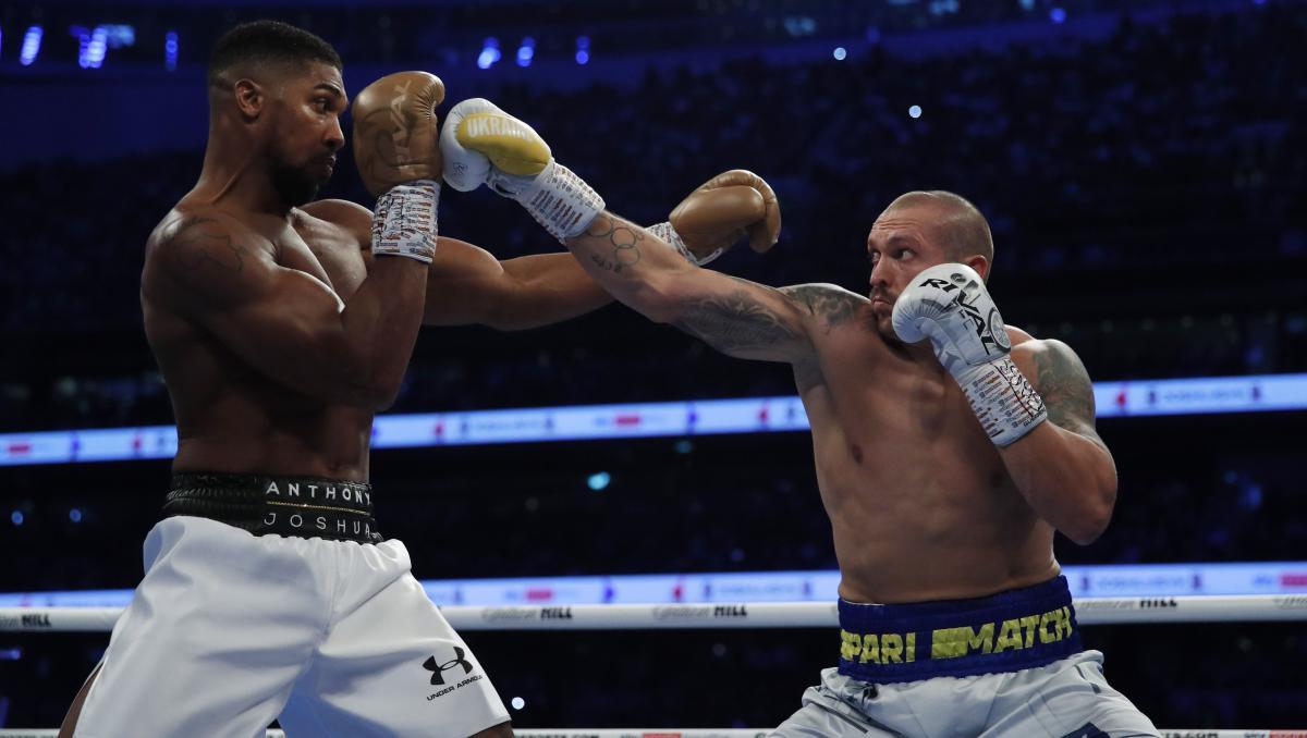 Бой Усика против Джошуа / фото REUTERS